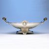 Gorham Manufacturing Company Coin Silver Medallion Centerpiece Bowl, retailed by Tiffany & Co., c. 1865