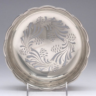 Liner of the Tiffany & Co 'Pine Cone' Design Antique Sterling Silver Ice Bowl, 1891-1902