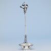 Tiffany & Co Antique Sterling Silver Figural Punch Ladle, New York City, 1870-75