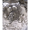 Body detail on the Charters, Cann & Dunn Coin Silver Vase, c. 1850
