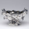 Other side of Gorham Sterling Silver 'Polar' Ice Bowl and Tongs, c. 1882