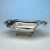 Fletcher & Gardiner Antique Coin Silver Bread Basket, Philadelphia, c. 1815, Retailed by J. B. Jones in Boston