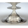 Base detail Erik Magnussen Designed for Gorham Important Pair of Art Deco Sterling Silver Tazze, Providence, c. 1926