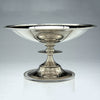 Single Erik Magnussen Designed for Gorham Important Pair of Art Deco Sterling Silver Tazze, Providence, c. 1926