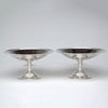 Erik Magnussen Designed for Gorham Important Pair of Art Deco Sterling Silver Tazze, Providence, c. 1926