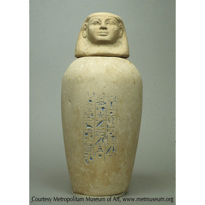 Canopic Jar of Manhata from www.metmuseum.org