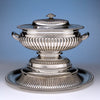 Antique Sheffield Plate Covered Tureen on Stand, c. 1805-10