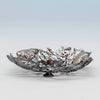 Feet on Gorham 'Narragansett' Antique Sterling Silver Bon Bon Dish, Providence, RI, 1886