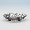 Feet to Gorham 'Narragansett' Antique Sterling Silver Bon Bon Dish, Providence, RI, 1886