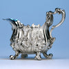 English Sterling Silver Cream Boat by Paul de Lamerie, London, 1742/43
