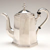 Newell Harding Antique Sterling Silver Coffee Pot, Boston, c. 1840's