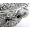 Handle to Dominick & Haff Antique Sterling Silver Repousse Soup Tureen, New York City, c. 1884