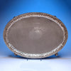 S. Kirk & Son 11oz Silver Footed Salver or Tray Bearing the arms of John Hanson Thomas, c. 1859