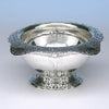 Arthur Stone Arts & Crafts Sterling Silver Bowl, Gardner, Mass, c. 1918