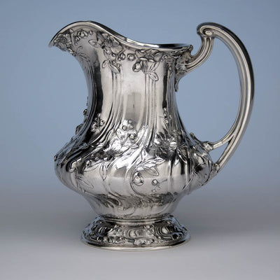 Gorham St. Louis 'Louisiana Purchase' 1904 Exposition Sterling Silver Water Pitcher, 1904