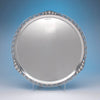 Alphonse La Paglia for International Silver Co. Sterling Silver Round Tray, c. 1950's