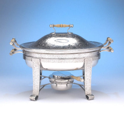 Barbour Silver Company Sterling Silver Covered Entree Server, Hartford, CT, c. 1895