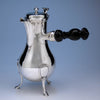 Jean-Ange Josephe Loque French Silver Ancien-Regime Coffee Pot, Paris, 1788