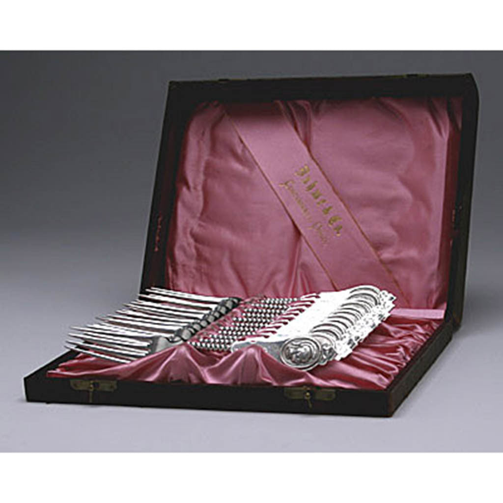 Duhme & Co. Coin Silver Dinner Forks - set of 12, Cincinnati, OH, c. 1870