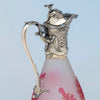 Handle to Gorham Sterling Mounted Daum Nancy Decanter, Providence, RI, 1886