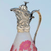 Spout to Gorham Sterling Mounted Daum Nancy Decanter, Providence, RI, 1886