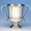 Arthur Stone Sterling Silver Trophy Cup, Gardner, MA c. 1920