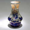 Detail of Loetz Glass (attributed) with Alvin Silver Overlay Vase, c. 1900