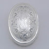 Arthur Stone Arts & Crafts Sterling Silver Snuffbox or Pillbox, Gardner, MA, c. 1915
