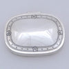 Arthur Stone Sterling Silver Arts & Crafts Pill Box, Gardner, MA, c. 1915