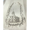 Engraving on Obadiah Rich & Benjamin Franklin Willard Rare Antique Sterling Silver Coffee Pot, 1846-47