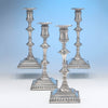 Antique Sheffield Plate Candle Sticks, c. 1765 – set of 4