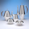 Reed & Barton 'The Diamond' Pattern Sterling Silver Coffee and Tea Service, Taunton, MA, c. 1960's