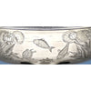 Turtle and fish scene on Gorham Sterling Silver Japanesque 'Special Order' Centerpiece Bowl, Providence, RI, 1879