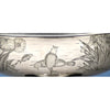 Koi scene on Gorham Sterling Silver Japanesque 'Special Order' Centerpiece Bowl, Providence, RI, 1879