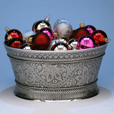 Whiting Persian Design Sterling Silver Centerpiece Bowl, c. 1880's