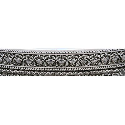 Banding on Whiting Persian Design Sterling Silver Centerpiece Bowl, c. 1880's