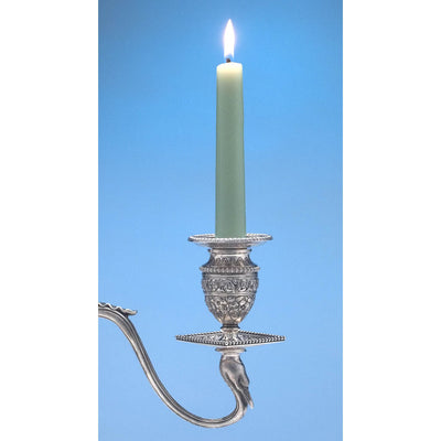 Candle in Tiffany & Co Pair of Antique Sterling Silver Five-light Candelabra, New York City, c. 1880