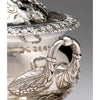 Handle detail on J. B. Jones Coin Silver Covered Sauce Tureen with Stand, Boston, c. 1830