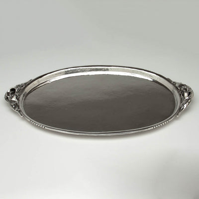 Tray to Peer Smed Antique Sterling Silver Coffee Service with Tray, New York City, c. 1930's