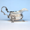 Peter Archambo II and Peter Meure George II Antique English Sterling Silver Sauce Boat, London,1748/49