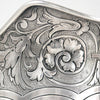 Spout detail on Shiebler Sterling Water Pitcher from the Slocum Family, New York City, c. 1889