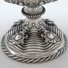 Base of Grosjean & Woodward Antique Sterling Silver Centerpiece Bowl, Retailed by Tiffany & Co., New York City, 1854-65