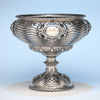 Grosjean & Woodward Antique Sterling Silver Centerpiece Bowl, Retailed by Tiffany & Co., New York City, 1854-65