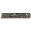 Foo dog on Gorham Antique Mixed Metal Japanese Design Fruit Knives, set of 6, Providence, RI, c. 1880