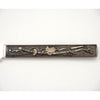 Sword on Gorham Antique Mixed Metal Japanese Design Fruit Knives, set of 6, Providence, RI, c. 1880