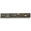 Turtles on Gorham Antique Mixed Metal Japanese Design Fruit Knives, set of 6, Providence, RI, c. 1880