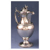 Wood & Hughes Antique Coin Silver Presentation Hot Milk Jug, New York City, c. 1862