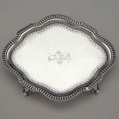 Undertray to Gale & Willis Antique Sterling Silver Coffee and Tea Service, New York City, 1859