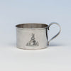 The Kalo Shop Hand Wrought Sterling Silver Arts & Crafts Child's Cup, Chicago, Illinois, c. 1920's