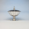 Erik Magnussen for Gorham Art Deco Large Covered Centerpiece, Providence, RI, 1925